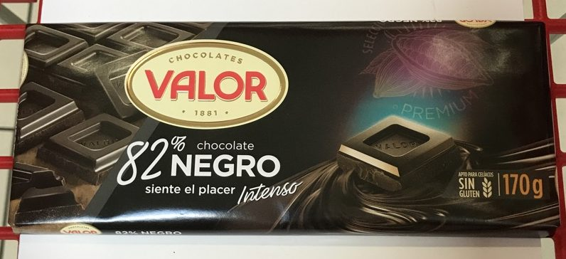 Chocolate valor 82%