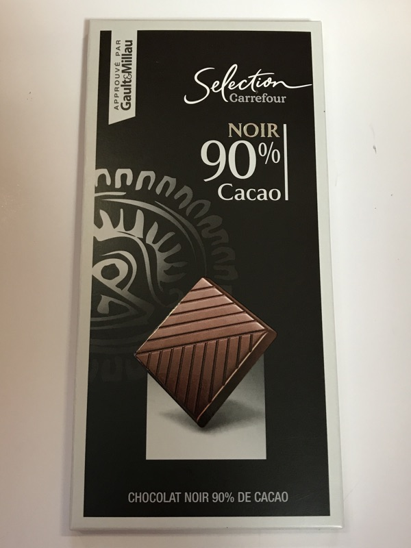 Chocolate Carrefour 90%