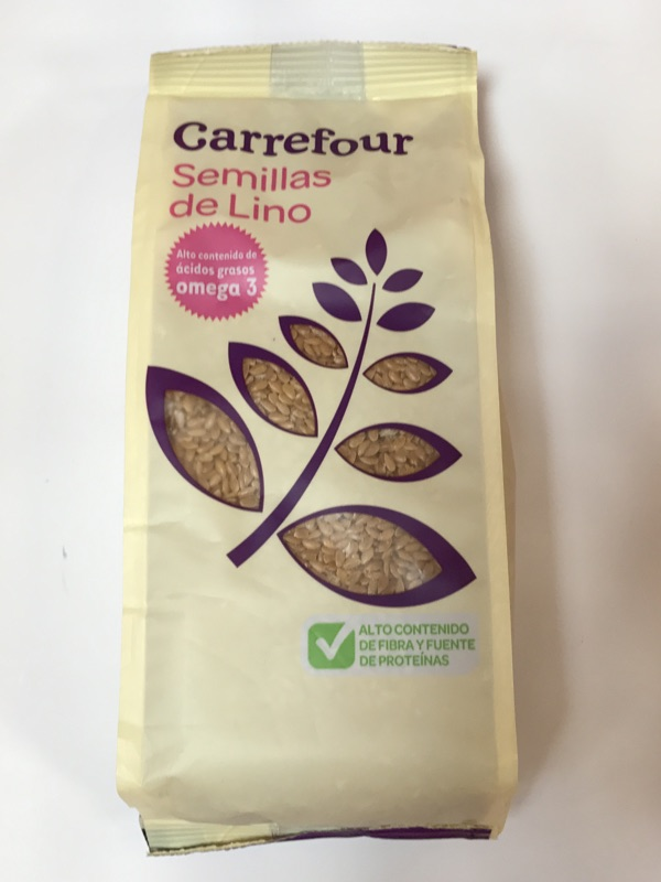Semillas de lino dorado Carrefour