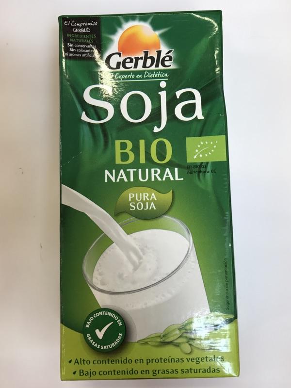 Bebida de soja Gerblé