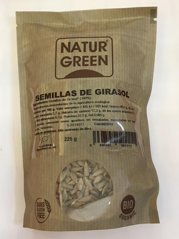 Semillas de girasol Naturgreen