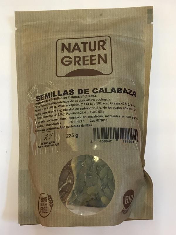 Semillas de calabaza Naturgreen