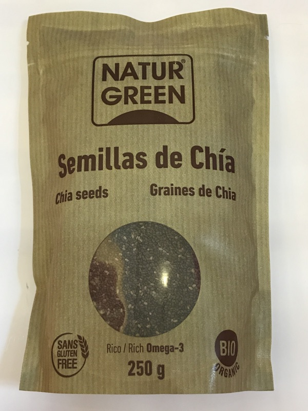 Semillas de chía Naturgreen