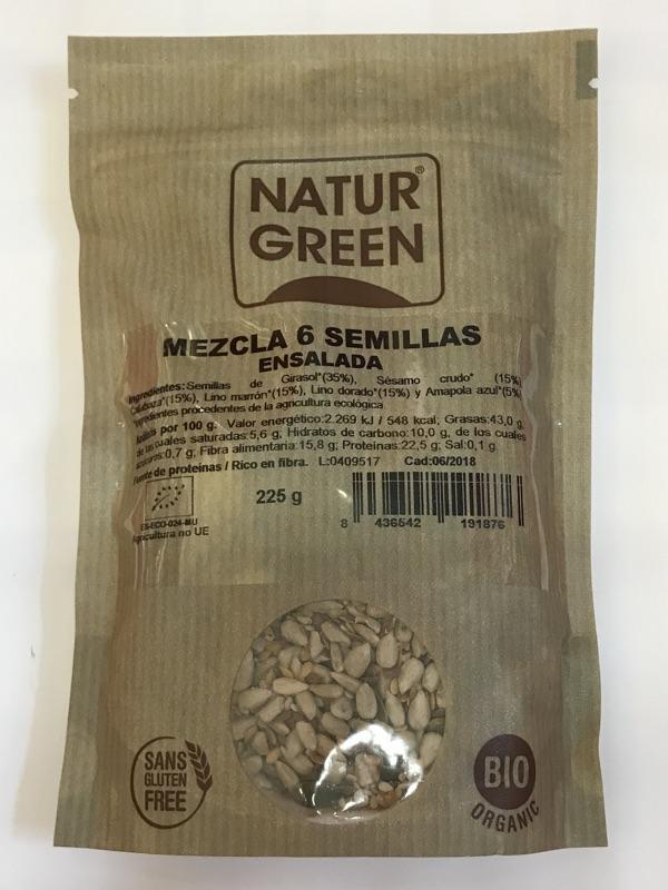 Mezcla de semillas Naturgreen