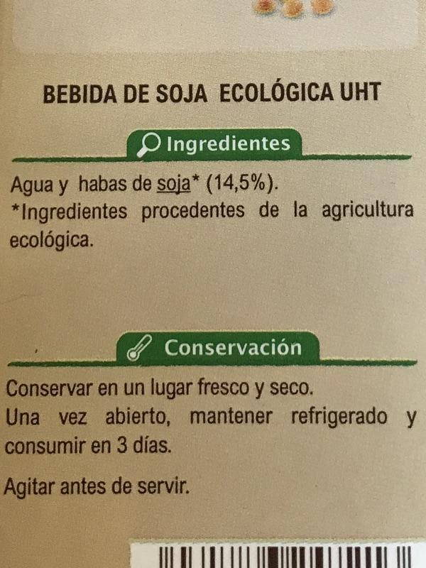Bebida de soja Bio Carrefour