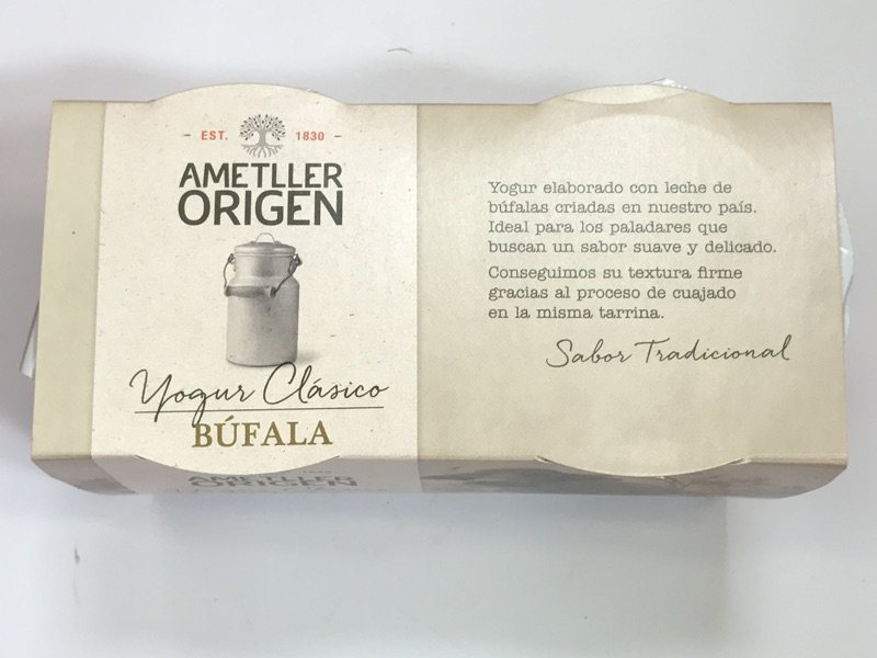 Yogur de búfala Ametller