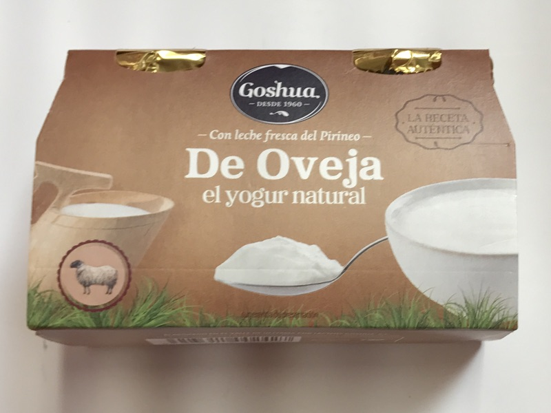 Yogur de oveja Goshua