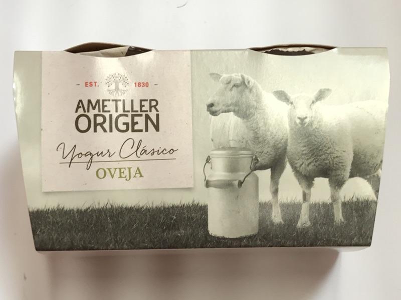 Yogur de oveja Ametller