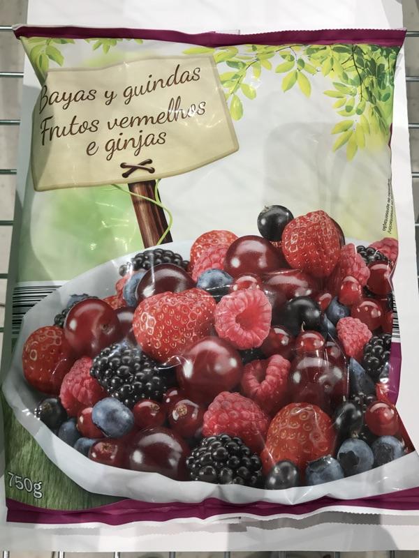 Frutos rojos congelados Lidl