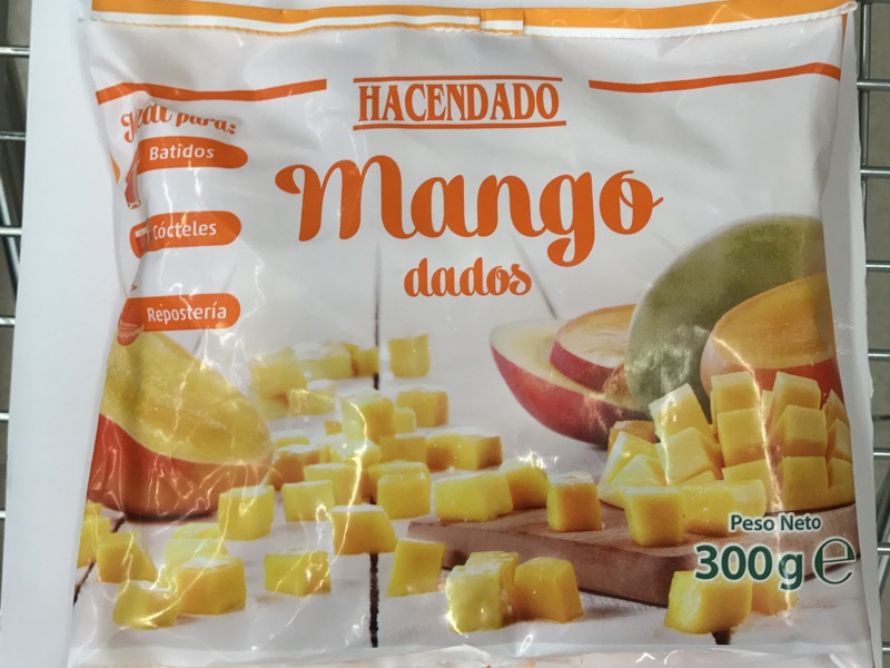 Mango congelado Hacendado