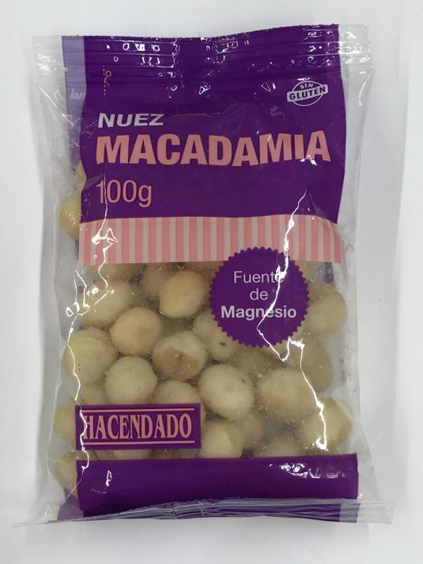Nueces de macadamia Hacendado