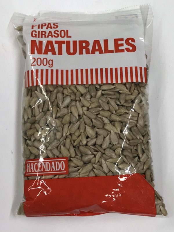 Semillas de girasol Hacendado
