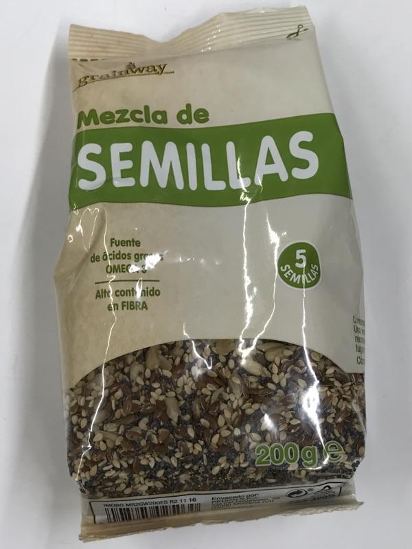 Mezcla de semillas Hacendado