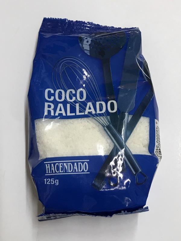 Coco rallado Hacendado