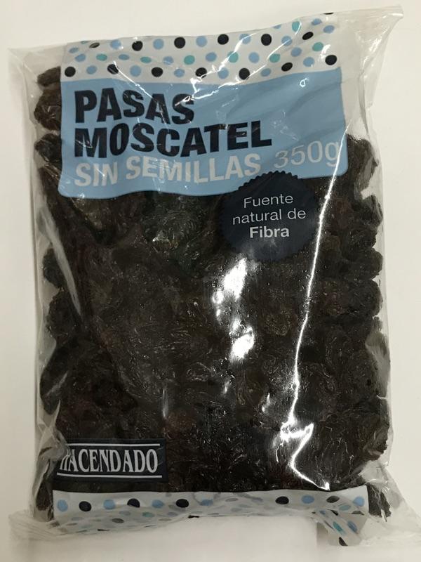Pasas Moscatel Hacendado