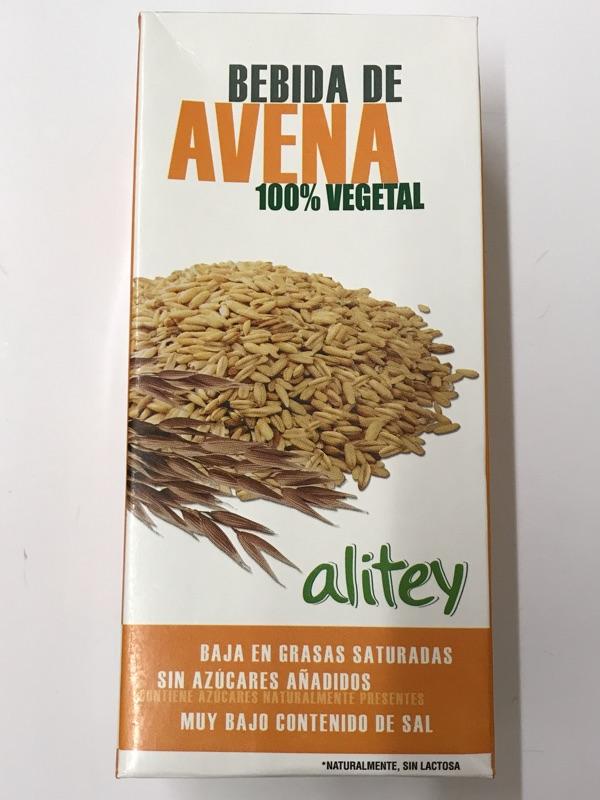 Bebida de avena Alitey Hacendado