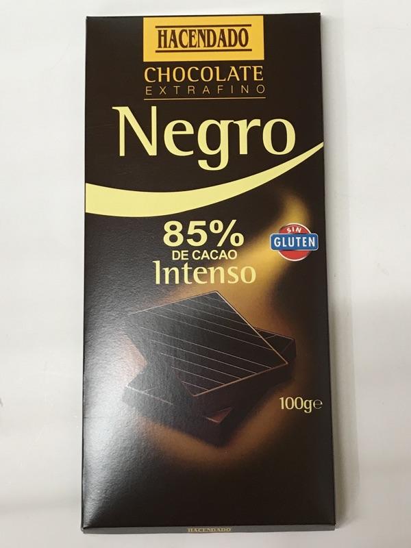 Chocolate Hacendado 85%