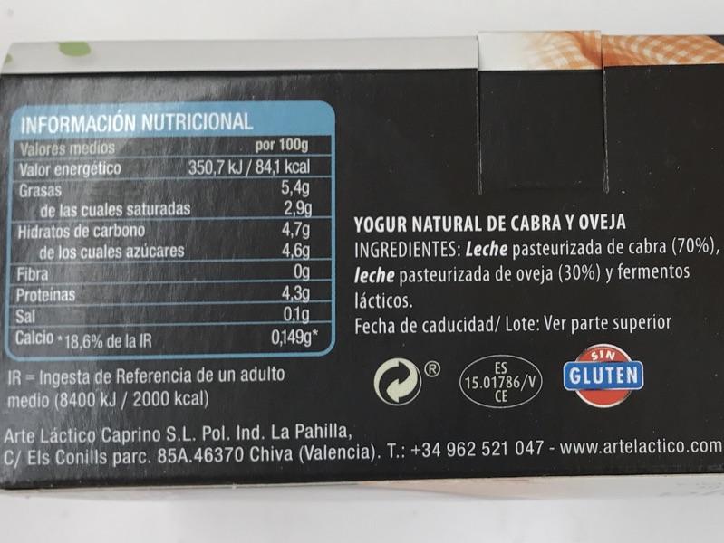 leche desnatada mercadona valor nutricional